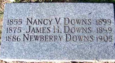 DOWNS, NANCY VADALIAH - Yell County, Arkansas | NANCY VADALIAH DOWNS - Arkansas Gravestone Photos