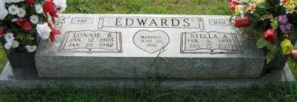 EDWARDS, STELLA A - Yell County, Arkansas | STELLA A EDWARDS - Arkansas Gravestone Photos