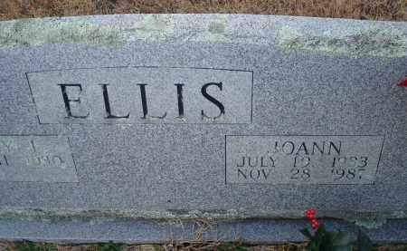 ELLIS, JOANN - Yell County, Arkansas | JOANN ELLIS - Arkansas Gravestone Photos