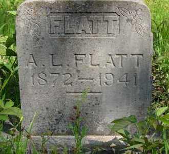 FLATT, ARTHUR L - Yell County, Arkansas | ARTHUR L FLATT - Arkansas Gravestone Photos