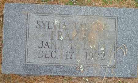 TAYLOR FRAZIER, SYLVIA - Yell County, Arkansas | SYLVIA TAYLOR FRAZIER - Arkansas Gravestone Photos