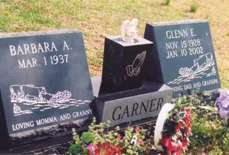 GARNER, GLENN E - Yell County, Arkansas   GLENN E GARNER - Arkansas Gravestone Photos