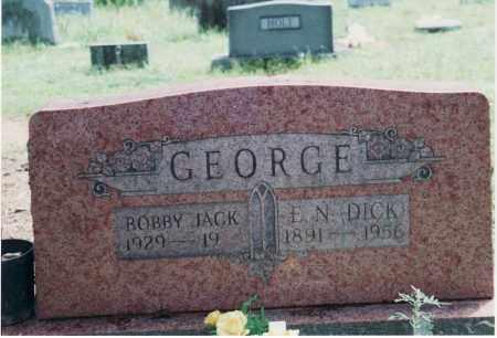 GEORGE, BOBBY JACK - Yell County, Arkansas | BOBBY JACK GEORGE - Arkansas Gravestone Photos
