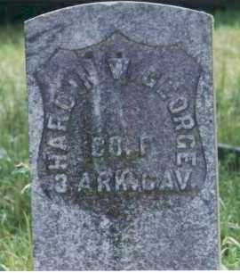 GEORGE  (VETERAN UNION), HARDIN WESLEY - Yell County, Arkansas | HARDIN WESLEY GEORGE  (VETERAN UNION) - Arkansas Gravestone Photos