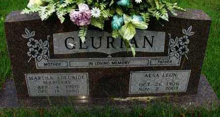 MARONAY GEURIAN, MARTHA ADELAIDE - Yell County, Arkansas | MARTHA ADELAIDE MARONAY GEURIAN - Arkansas Gravestone Photos