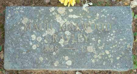 KIRKWOOD GRAVLEY, MAUD - Yell County, Arkansas   MAUD KIRKWOOD GRAVLEY - Arkansas Gravestone Photos