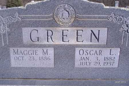 GREEN, OSCAR L - Yell County, Arkansas | OSCAR L GREEN - Arkansas Gravestone Photos