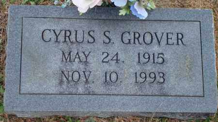 GROVER, CYRUS S. - Yell County, Arkansas   CYRUS S. GROVER - Arkansas Gravestone Photos