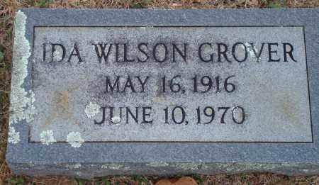 GROVER, IDA WILSON - Yell County, Arkansas   IDA WILSON GROVER - Arkansas Gravestone Photos