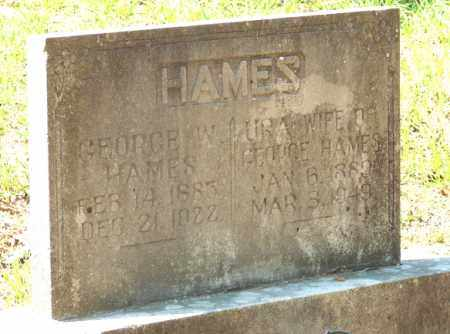 HAMES, URA - Yell County, Arkansas | URA HAMES - Arkansas Gravestone Photos