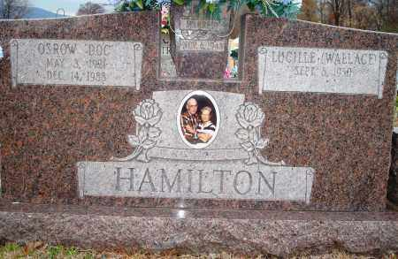 "HAMILTON, OSROW ""DOC"" - Yell County, Arkansas 