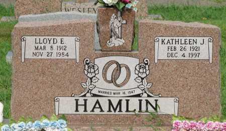 HAMLIN, LLOYD E - Yell County, Arkansas   LLOYD E HAMLIN - Arkansas Gravestone Photos