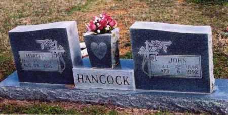 HANCOCK, JOHN - Yell County, Arkansas   JOHN HANCOCK - Arkansas Gravestone Photos