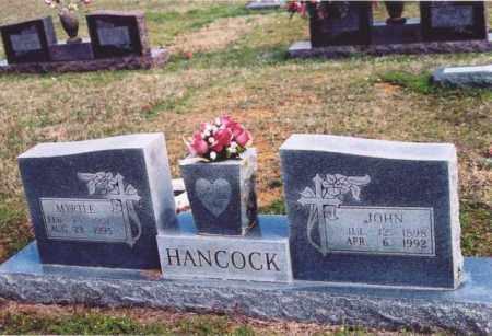 HANCOCK, MYRTLE - Yell County, Arkansas | MYRTLE HANCOCK - Arkansas Gravestone Photos