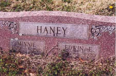 HANEY, MINNIE - Yell County, Arkansas   MINNIE HANEY - Arkansas Gravestone Photos