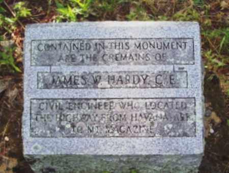 HARDY, JAMES W - Yell County, Arkansas | JAMES W HARDY - Arkansas Gravestone Photos