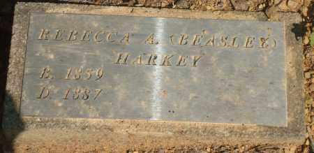 HARKEY, REBECCA A - Yell County, Arkansas | REBECCA A HARKEY - Arkansas Gravestone Photos