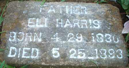 HARRIS, ELI - Yell County, Arkansas   ELI HARRIS - Arkansas Gravestone Photos
