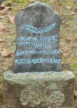 HEFFINGTON, WILLIAM JULINS - Yell County, Arkansas | WILLIAM JULINS HEFFINGTON - Arkansas Gravestone Photos