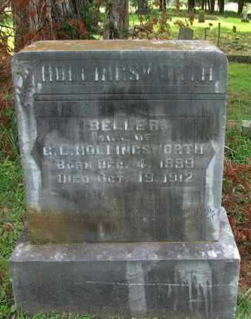 HOLLINGSWORTH, BELLER - Yell County, Arkansas | BELLER HOLLINGSWORTH - Arkansas Gravestone Photos