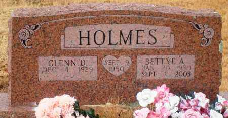 HOLMES, BETTYE A - Yell County, Arkansas | BETTYE A HOLMES - Arkansas Gravestone Photos