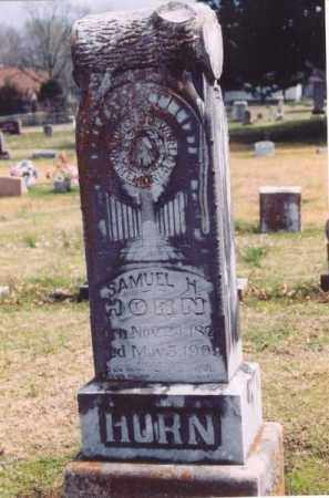 HORN, SAMUEL H. - Yell County, Arkansas | SAMUEL H. HORN - Arkansas Gravestone Photos