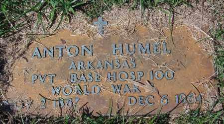 HUMEL (VETERAN WWI), ANTON - Yell County, Arkansas | ANTON HUMEL (VETERAN WWI) - Arkansas Gravestone Photos