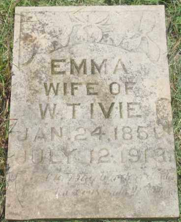 IVIE, EMMA - Yell County, Arkansas | EMMA IVIE - Arkansas Gravestone Photos