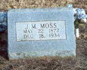 JAMES MATTHEW (JIM), MOSS - Yell County, Arkansas | MOSS JAMES MATTHEW (JIM) - Arkansas Gravestone Photos