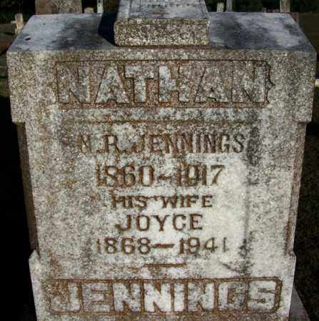 JENNINGS, NATHAN R - Yell County, Arkansas | NATHAN R JENNINGS - Arkansas Gravestone Photos