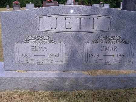 JETT, OMAR - Yell County, Arkansas | OMAR JETT - Arkansas Gravestone Photos