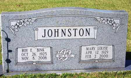 "JOHNSTON, ROY E ""BINK"" - Yell County, Arkansas 