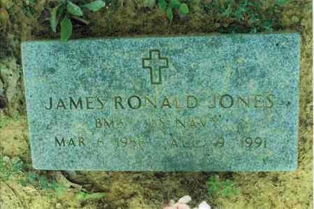 JONES  (VETERAN), JAMES RONALD - Yell County, Arkansas | JAMES RONALD JONES  (VETERAN) - Arkansas Gravestone Photos