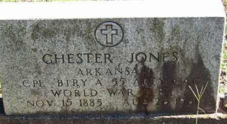 JONES (VETERAN WWI), CHESTER - Yell County, Arkansas | CHESTER JONES (VETERAN WWI) - Arkansas Gravestone Photos