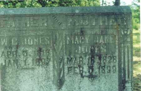 JONES, W. C. - Yell County, Arkansas   W. C. JONES - Arkansas Gravestone Photos