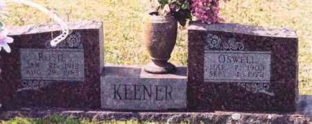 GARNER KEENER, ROSIE EFFIE - Yell County, Arkansas   ROSIE EFFIE GARNER KEENER - Arkansas Gravestone Photos