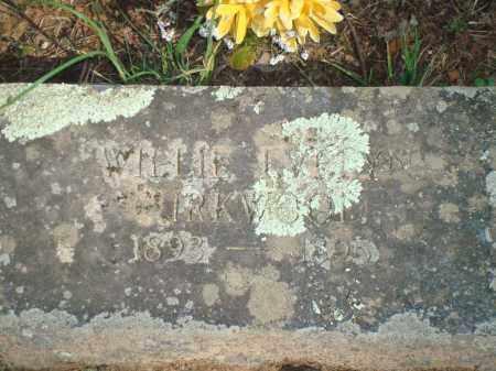 KIRKWOOD, WILLIE EVELYN - Yell County, Arkansas   WILLIE EVELYN KIRKWOOD - Arkansas Gravestone Photos
