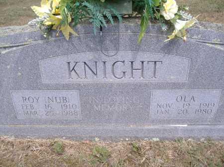 HILL KNIGHT, OLA - Yell County, Arkansas | OLA HILL KNIGHT - Arkansas Gravestone Photos