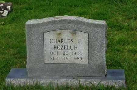 KOZELUH, CHARLES J - Yell County, Arkansas | CHARLES J KOZELUH - Arkansas Gravestone Photos