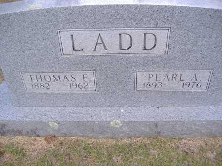 LADD, THOMAS E - Yell County, Arkansas   THOMAS E LADD - Arkansas Gravestone Photos