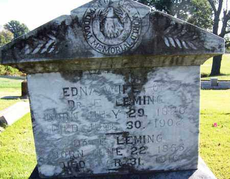LEMING, EDNA - Yell County, Arkansas | EDNA LEMING - Arkansas Gravestone Photos