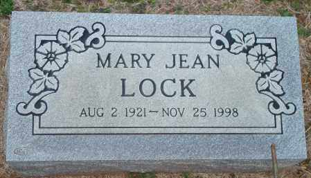 LOCK, MARY JEAN - Yell County, Arkansas | MARY JEAN LOCK - Arkansas Gravestone Photos