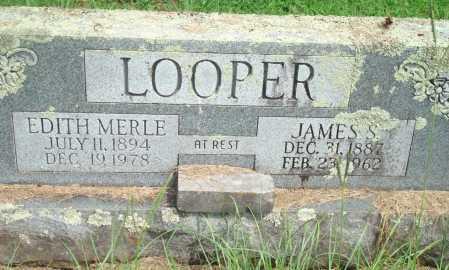 LOOPER, EDITH MERLE - Yell County, Arkansas   EDITH MERLE LOOPER - Arkansas Gravestone Photos