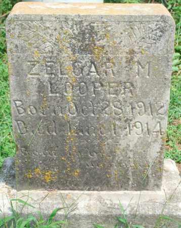 LOOPER, ZELGAR M - Yell County, Arkansas | ZELGAR M LOOPER - Arkansas Gravestone Photos