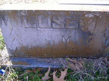 LUSBY, J. M. - Yell County, Arkansas | J. M. LUSBY - Arkansas Gravestone Photos