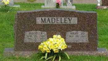 MADELEY, HOOD B - Yell County, Arkansas   HOOD B MADELEY - Arkansas Gravestone Photos