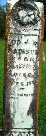 MADISON, J. W. - Yell County, Arkansas | J. W. MADISON - Arkansas Gravestone Photos