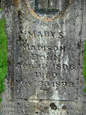 MADISON, MARY S - Yell County, Arkansas | MARY S MADISON - Arkansas Gravestone Photos