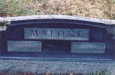 MALONE, HOMER D. - Yell County, Arkansas | HOMER D. MALONE - Arkansas Gravestone Photos