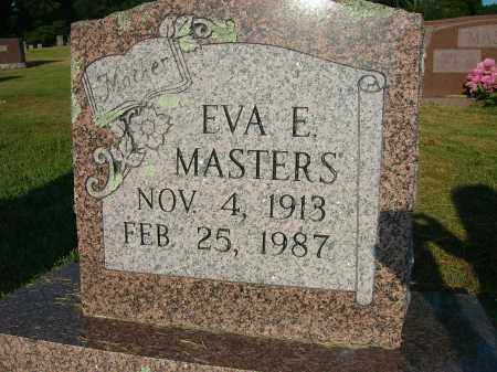 RICKETT MASTERS, EVA E - Yell County, Arkansas | EVA E RICKETT MASTERS - Arkansas Gravestone Photos